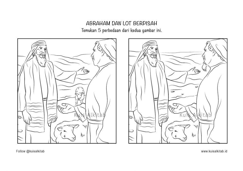 Cari Perbedaan Dalam Gambar - Kuis Alkitab